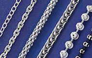 Chains (Rhodium Plated)