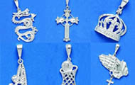 Pendants (Diamond Cut)