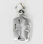 P21238 Dog Tag Cross