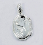 P22773 Locket w/Design