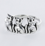 R 42948 Cat Ring - Size 5