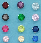 CZ Round Color 5mm