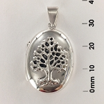 Oval Locket Tree