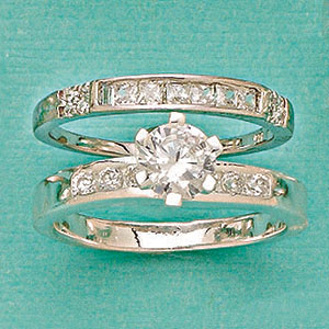 pictures of wedding rings r 6514 cz wedding set rings size 9 6514