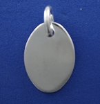 Oval Dog Tag