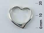 P 7310 Open Heart Pendant